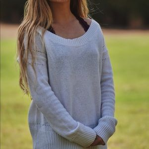 Cute Off The Shoulder Sweater